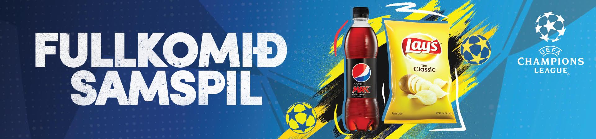 Pepsi Lays tilboð
